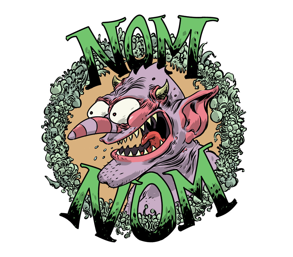 nom(colored)label